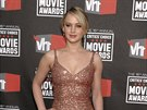 Jennifer Lawrence v šatech od L'Wren Scottové (14. ledna 2014)