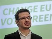 P�edseda Strany zelen�ch a jedni�ka na kandid�tce pro volby do Evropsk�ho...