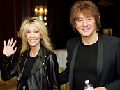 Richie Sambora, s exman�elkou Heather Locklearovou