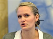 Aet Rahe z estonského Ministerstva hospodářství a komunikací