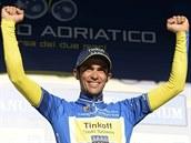 Alberto Contador coby vítěz závodu Tirreno-Adriatico.