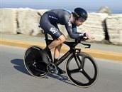 Bradley Wiggins v časovce na Tirreno-Adriatico.