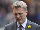 David Moyes, zatím neúspěšný trenér Manchesteru United.