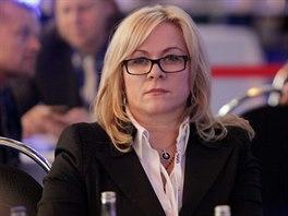 Jana Nečasová, dříve Nagyová na snímku z března 2013