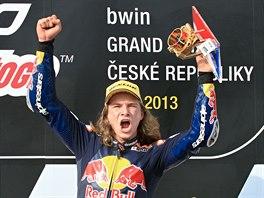 Sedmnáctiletý Karel Hanika vyhrál brněnskou Velkou cenu v kategotii Red Bull...
