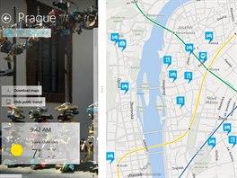 HERE Maps jsou nyní dostupné i ve verzi pro tablety s Windows 8, kde vám...