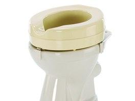Nástavce na WC se vyrábějí nejčastěji s výškou 5, 10 či 15 cm.