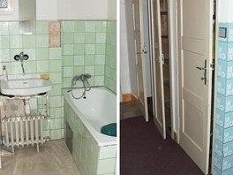 Původní stav bytu doslova volal po rekonstrukci.