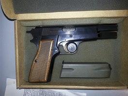 Zbraň, jíž se Mehmet Ali Agca pokusil zabít papeže Jana Pavla II.
