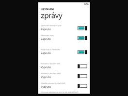 Displej smartphonu Nokia Lumia 1320