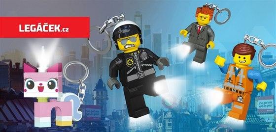 Svítící LEGO postavičky patří mezi nejoblíbenější produkty.