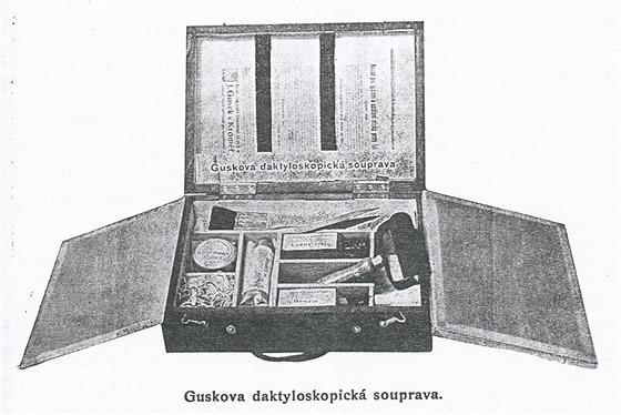 Daktyloskopická souprava