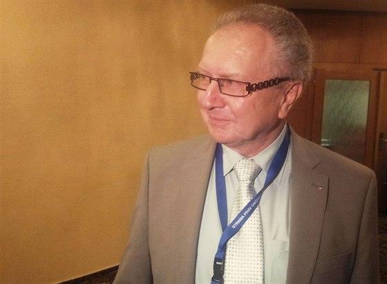 Senátor a bývalý předseda Agrární komory Jan Veleba.