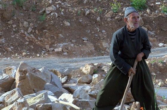 Kurd a jeho kameny...