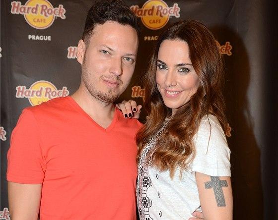 Melanie C a slovenský zpěvák Peter Aristone