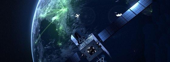 Komunikační družice Inmarsat