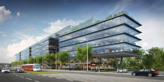 Letná Office Park. Administrativní centrum by mělo vyrůst na místě chátrajících...