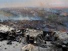 Obležení Sevastopolu zachytil ve svém panoramatu malíř Franz Alexejevič Roubaud.