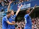 DEMOLICE. Šestkrát se fotbalisté Chelsea radovali ze vstřelené branky.