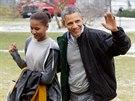 Rodina americk�ho prezidenta Baracka Obamy se stala vzorem pro m�dn� styl,...
