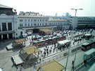 Současná podoba brněnského Hlavního nádraží.