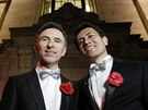 Gayové a lesby mohli v Británii od roku 2005 uzavírat registrovaná partnerství,...