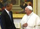 Americký prezident Barack Obama na návštěvě Vatikánu (27. března 2014)