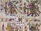 Zdigitalizovaný aztécký kalendář, který uchovává vatikánská knihovna