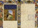 Zdigitalizovaná renesanční miniatura, kterou uchovává vatikánská knihovna