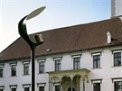 Původní navrhovaná podoba lamp, které měly osvětlit Horní náměstí v Olomouci -...