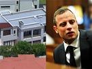Dům Oscara Pistoria, ve kterém došlo k vraždě jeho přítelkyně  Reevy