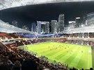 Počítáčová vizualizace budoucího stadionu v Miami, jehož stavbu zajišťuje...