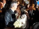 Andrea Bocelli se v 55 letech podruhé oženil.