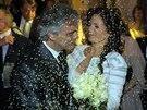 Andrea Bocelli si vzal matku své dcery Virginie.
