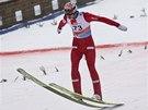 Skokan na lyžích Anders Bardal v Planici