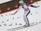 Skokan na lyžích Peter Prevc v Planici