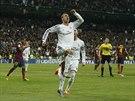 G�lov� radost Cristiana Ronalda z Realu Madrid.
