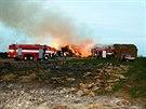 Neobvykle v polovině března vyjížděli hasiči nedaleko Brodku u Prostějova k...