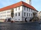 Vizualizace podoby Horn�ho n�m�st� v Olomouci s variantou lamp Philips...