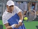 Tomáš Berdych na turnaji v Miami