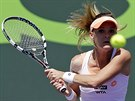 Agnieszka Radwaňská na turnaji v Miami