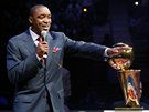 Isiah Thomas vzpomíná na své tituly v NBA s Detroitem Pistons.