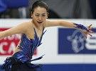Japonská krasobruslařka Mao Asadaová zvítězila na světovém šampionátu, který se...