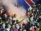 VE VARU. Plze�t� fanou�ci slavili debakl Liberce, utk�n� skon�ilo 6:0 pro...
