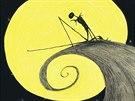 Ilustrace z knihy Můra noční, předvánoční
