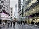 Mrakodrap Střep navrhl italský architekt Renzo Piano, který je známý například...
