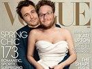 James Franco a Seth Rogen v parodii na titulku magaz�nu Vogue s Kim