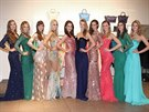 Finalistky sout�e �esk� Miss 2014