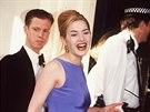 Stephen Tredre a Kate Winsletová (duben 1996)