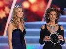 �esk� Miss 2014 Gabriela Frankov� a Sophia Lorenov� (29. b�ezna 2014)